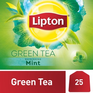 Lipton Green Tea with Mint 25 Teabags