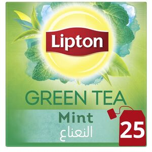 Lipton Green Tea Mint 25 Teabags