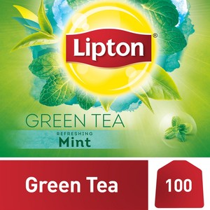Lipton Green Tea with Mint 100 Teabags