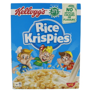 Kellogg's Rice Krispies Cereals 375g
