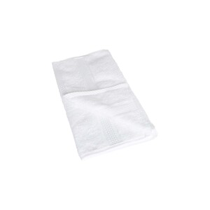 Laura Collection Hand Towel White Size: W30 x L50cm