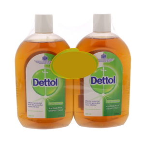 Dettol Antiseptic Disinfectant 2 x 500ml