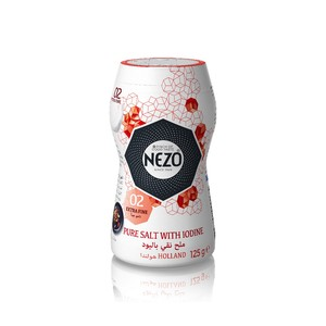 Nezo Table Salt With Iodine 125g