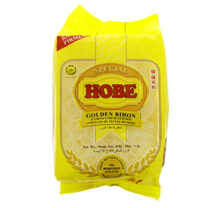 Hobe Golden Bihon Cornstarch Sticks 454g