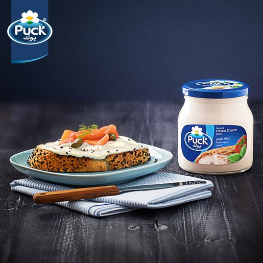 Puck Cream Cheese Spread Jar 500g