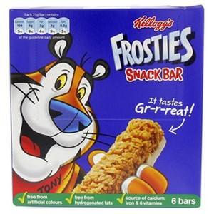 Kellogg's Frosties Snack Bar 6 Bars