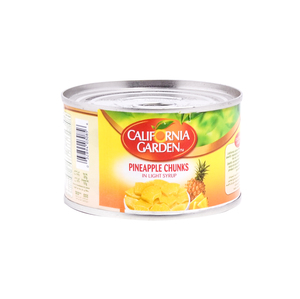 California Garden Pineapple Chunks in Syrup 227g