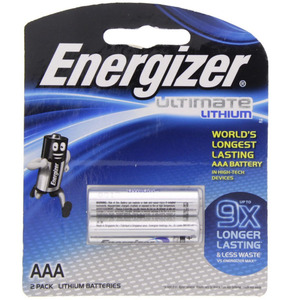 Energizer Ultimate Lithium AAA battery  L92BP2