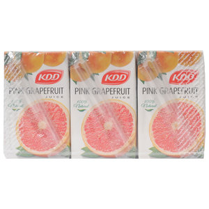 KDD Pink Grape fruit Juice 250ml