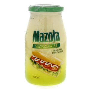 Mazola Mayonnaise Made With Pure Corn Oil 500ml