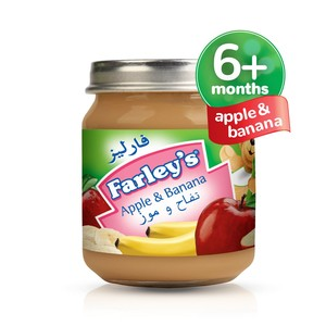 Farley's Apple & Banana Baby Food 120g
