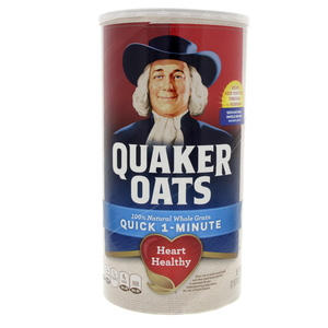 Quaker Quick 1 Minute Oats 1.19kg