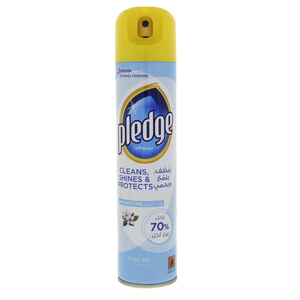 Pledge Cleans, Shines & Protects Spring Time Furniture Spray 300ml