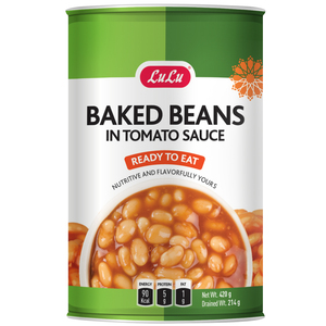 Lulu Baked Beans In Tomato Sauce 420g