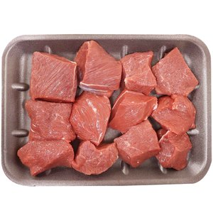 Locally Slaughtered Somali Beef Cubes 500g Approx. Weight