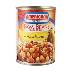 Americana Fava Beans with Chick Peas 400g