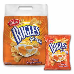 Tiffany Bugles Cheese Chips 13g