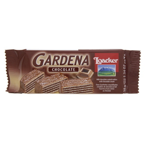 Loacker Gardena Milk Chocolate Coated Wafers With Chocolate Cream 38g