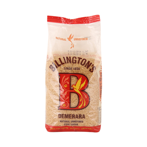 Billington's Demerara Natural Unrefined Cane Sugar 500 Gm
