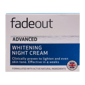 Fade Out Extra Care Whitening Night Cream 50ml