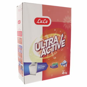 Lulu Ultra Active Washing Powder Top Load 4kg