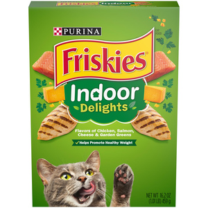 Purina Friskies Indoor Delights Cat Dry Food 459g