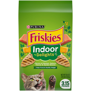 Purina Friskies Indoor Delights Cat Dry Food 1.42kg