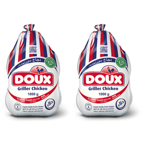 Doux Frozen Griller Chicken 1000g X 2pcs