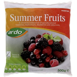 Ardo Summer Fruits 500g