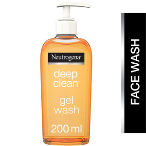 Neutrogena Facial Wash Deep Clean Gel 200ml