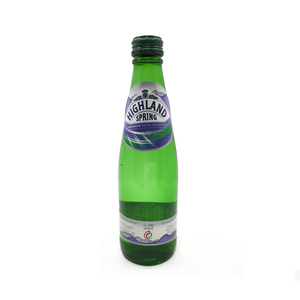 Highland Spring Carbonated Natural Mineral Water 330ml