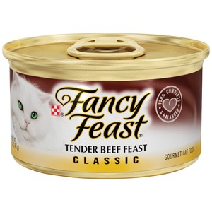 Purina Fancy Feast Classic Tender Beef Wet Cat Food 85 Gm