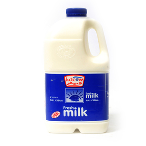 Kdcow Fresh Milk Full Cream 2Litre