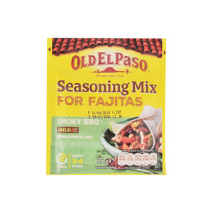 Old El Paso Smoky BBQ Seasoning Mix for Fajitas 35g