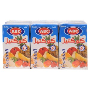 ABC Cocktail Nectar 250ml x 6pcs