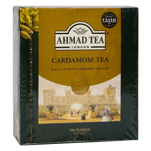 Ahmad Black Tea Cardamom 100pcs