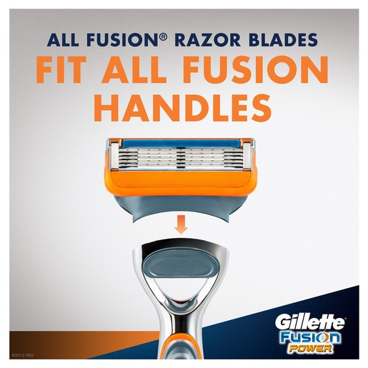 Gillette Fusion Power Men's Razor 1pc