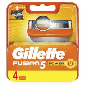 Gillette Fusion Power Replacement Blades 4pcs