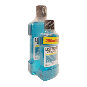 Listerine Mouth Wash Cool Mint 500ml + 250ml