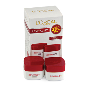 Loreal Revitalift Day Cream 50ml + Night Cream 50ml