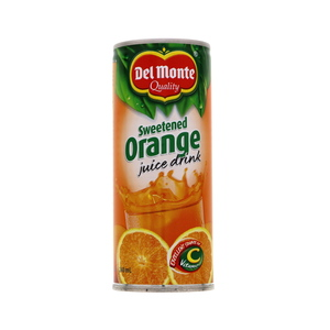 Delmonte Sweetened Orange Juice Drink 240ml