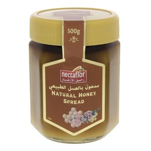 Nectaflor Natural Honey Spread 500g