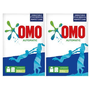 OMO Washing Powder Front Load 2.5kg x 2pcs
