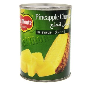 Delmonte Pineapple Chunks In Syrup 570g