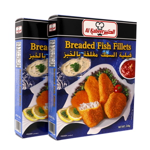 Al Kabeer Breaded Fish Fillet 2 x 330g