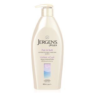 Jergens Body Lotion Fair & Soft 400ml