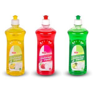 Lulu Dishwash Liquid Assorted 3 x 500ml