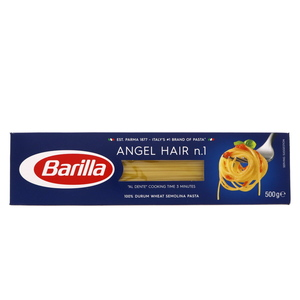 Barilla Angel Hair n.1 Wheat Semolina Pasta 500g