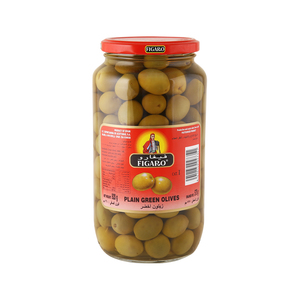 Figaro Plain Green Olives 575g