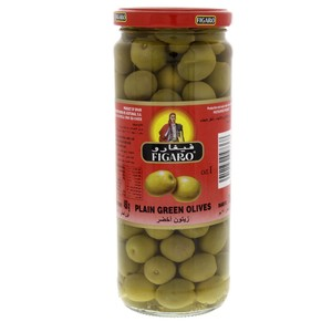 Figaro Plain Green Olives 270g